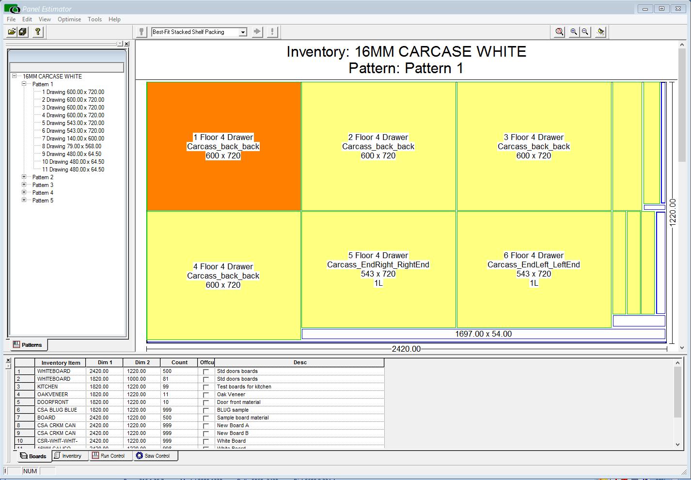 Panel Estimator (full)