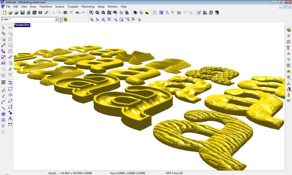 3D Rendered Sample