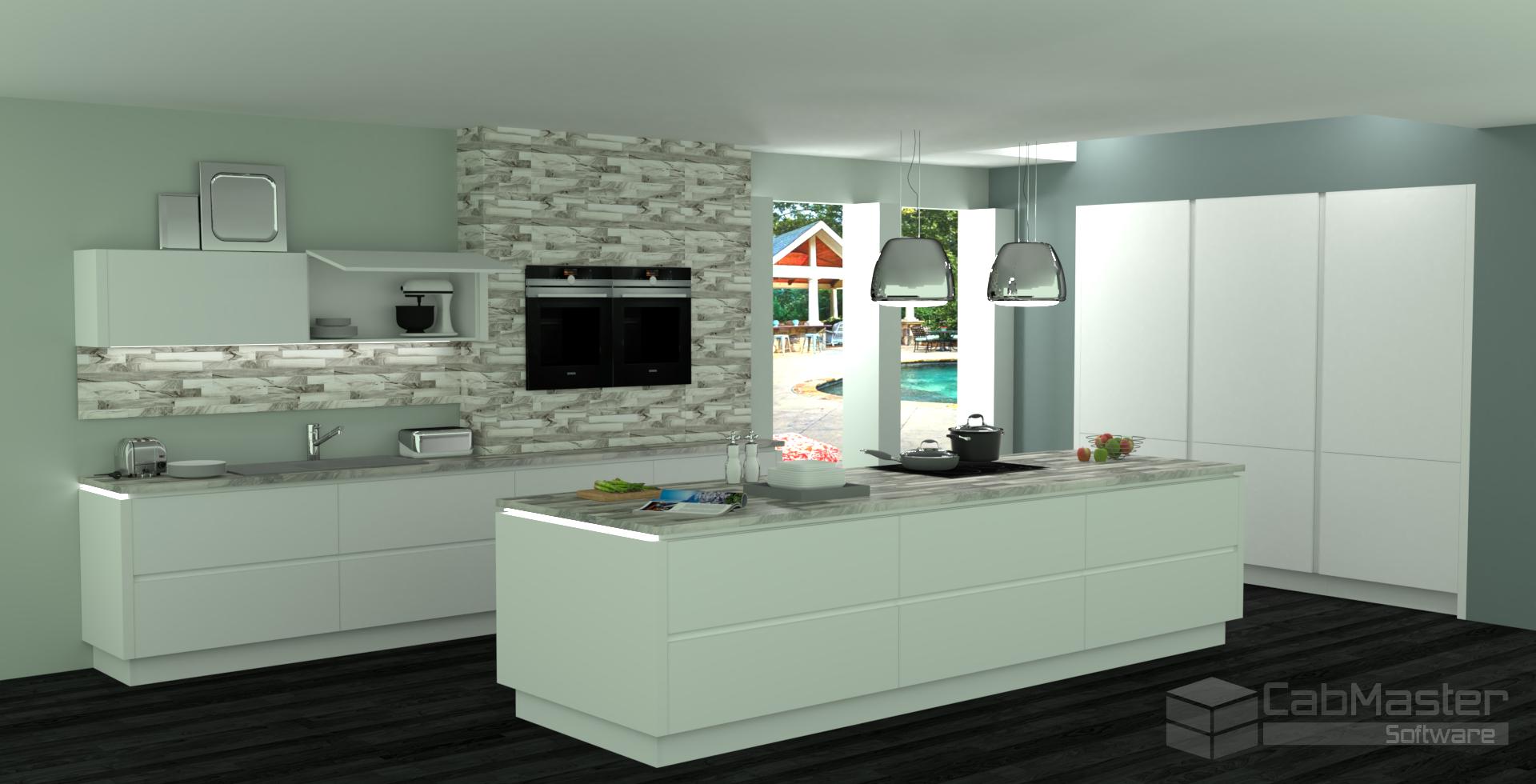 AWISA Sample Kitchen Render