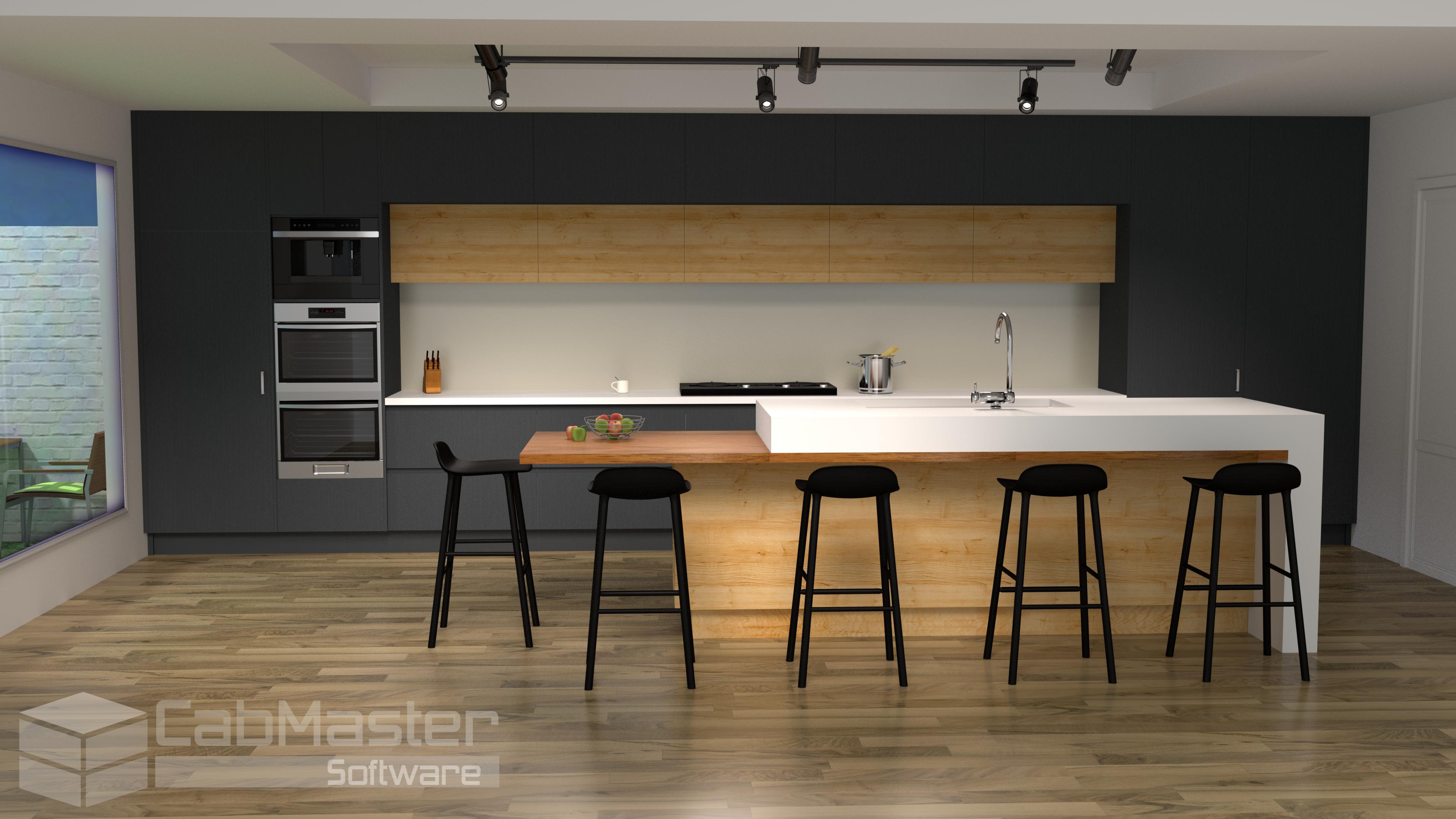 Sample Kitchen Render 2