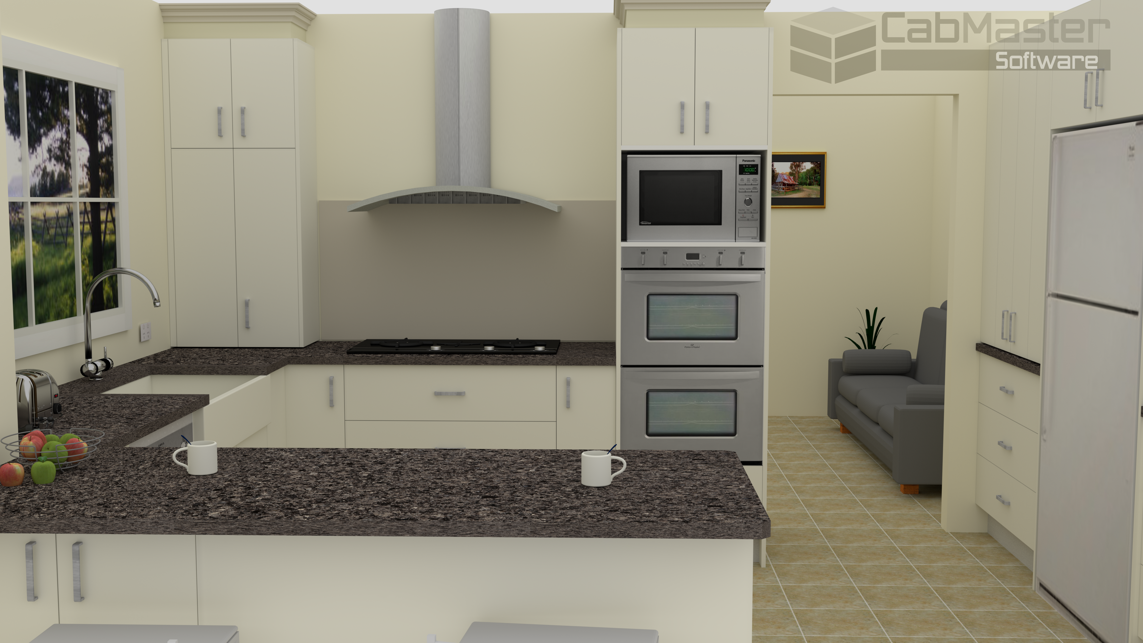 Sample Kitchen Render 3