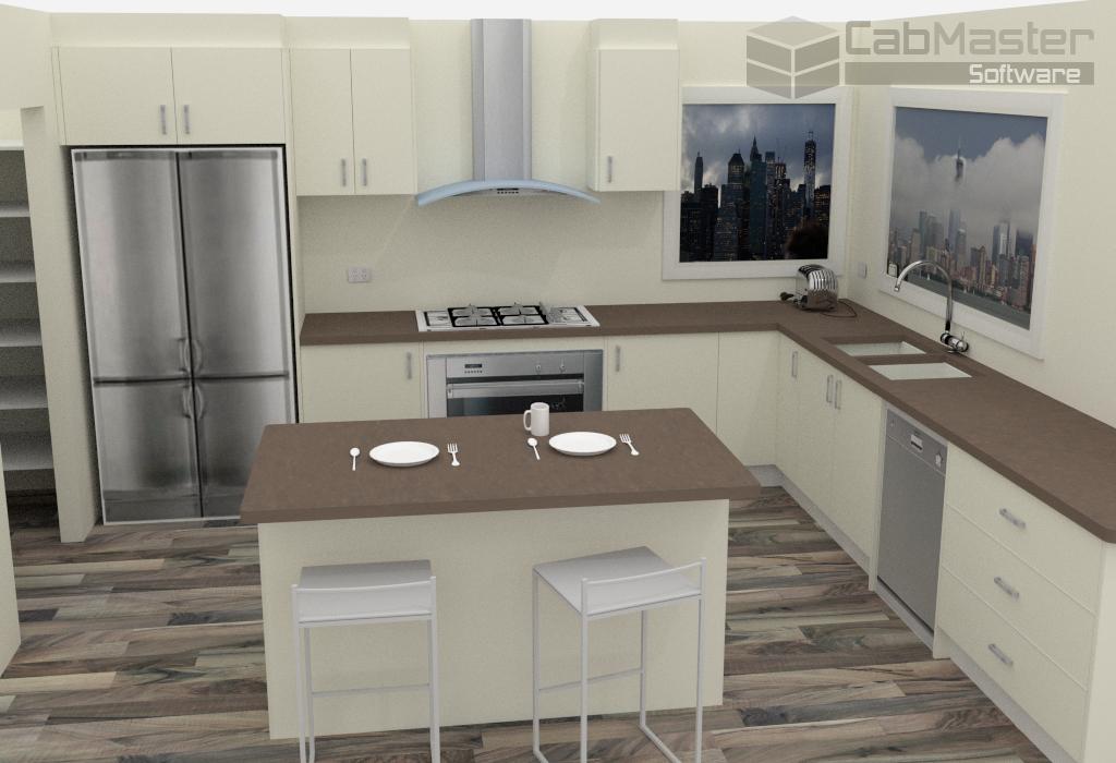 Sample Kitchen Render 4