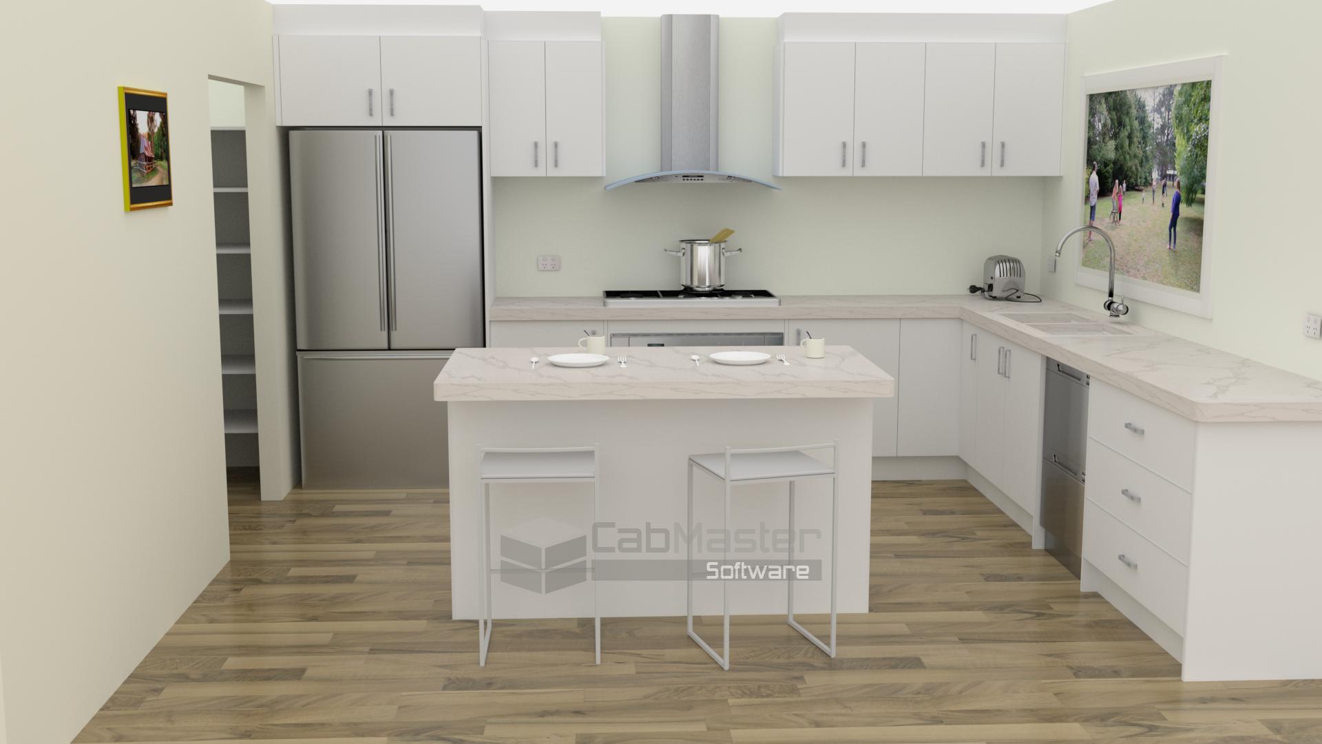 Sample Kitchen Render 5