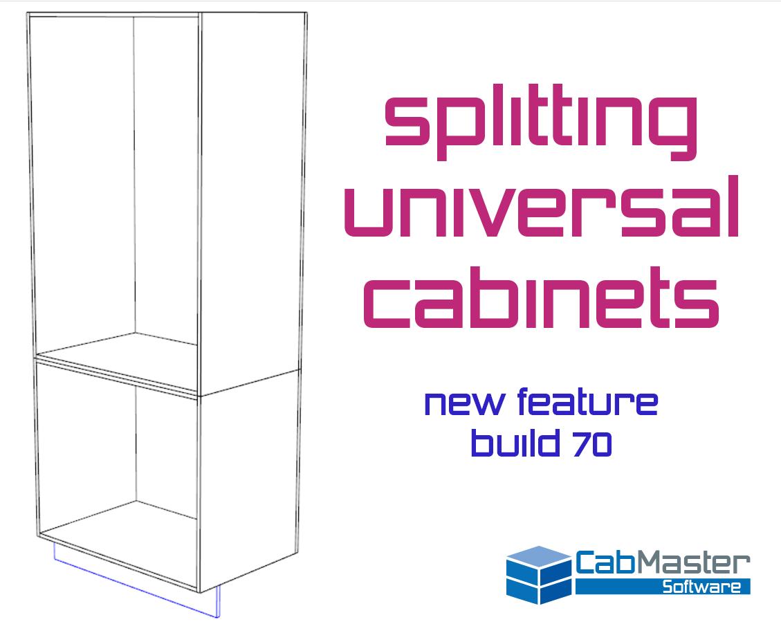 Splitting Universal Cabinets