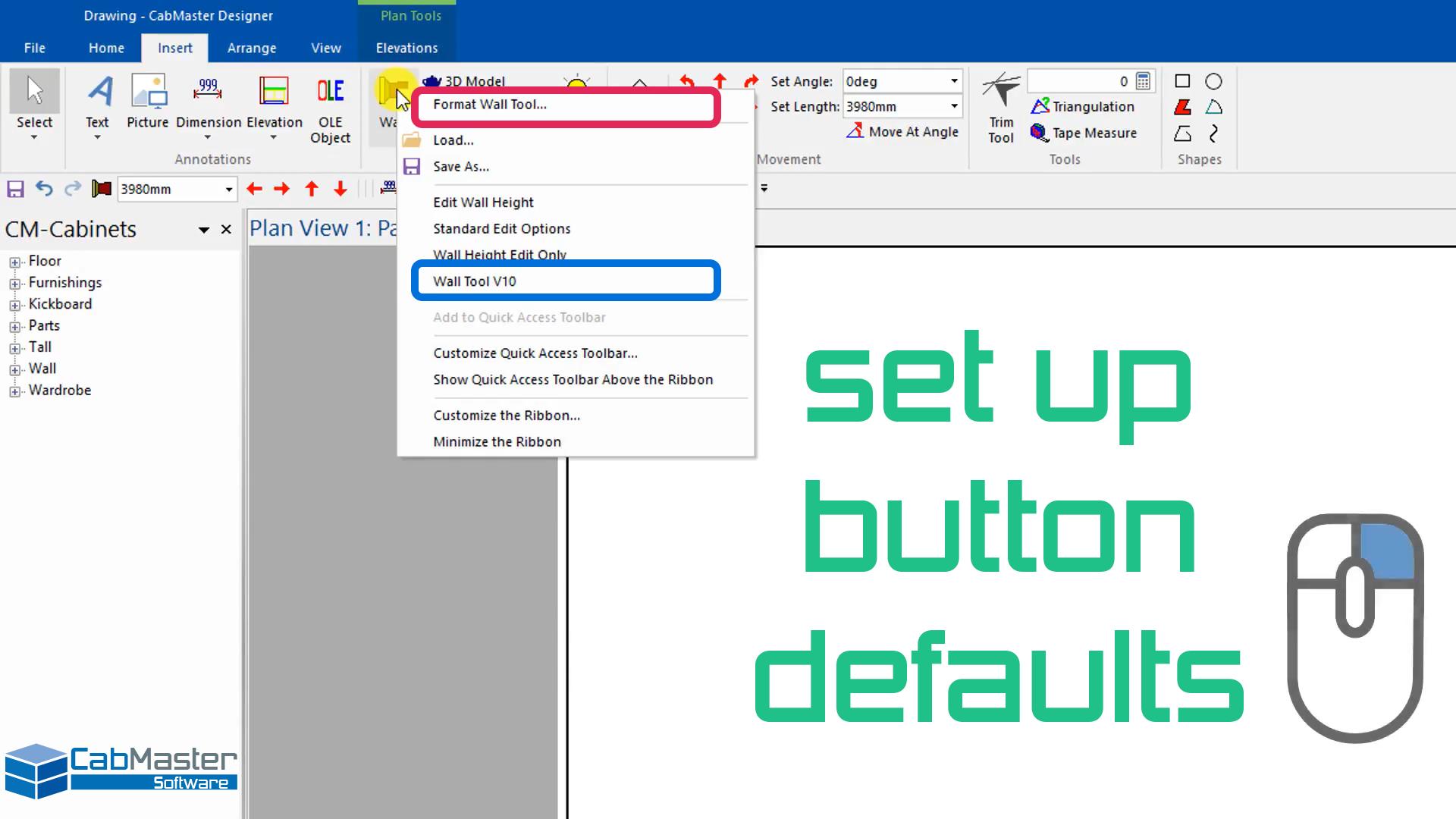 Button Defaults